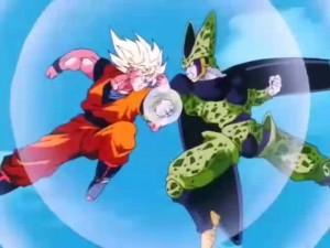Shounen hero fights evil
